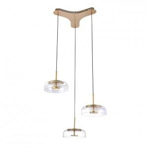 Lámpara Leuk | Design Pláka  - Pláka Triple - Colgante