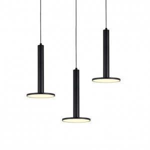 Lámpara Leuk | Design Ufo - Ufo Triple Negro - Colgante