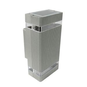 Lámpara Leuk | EXO II GRIS - Aplique Bidireccional