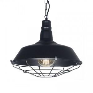 Lámpara Leuk | Kal Negro con Cadena - Colgante