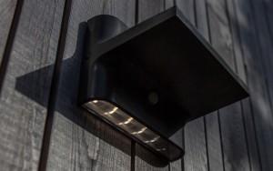 Lámpara Lutec | Luz LED Solar con Detector de Movimiento - P9089