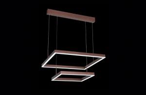 Lámpara Magnalum | Ciro cuadrado doble - OM9071F-60+40