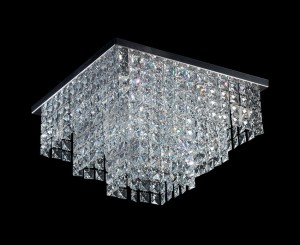 Lámpara Magnalum | Cuadrado Escalonado - 9010/4 - 9010/6 - Plafón