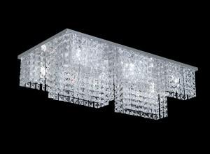 Lámpara Magnalum | Rectángulo Cubitos - 9040/12 - Plafón