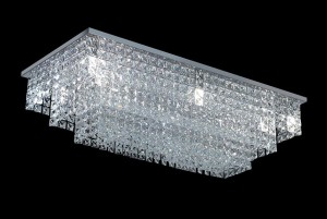 Lámpara Magnalum | Rectángulo Escalonado - 9030/12 - Plafón