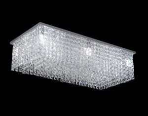 Lámpara Magnalum | Rectángulo Recto - 9020/12 - Plafón