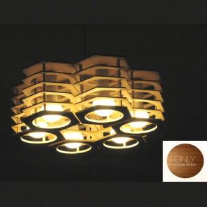 Lámpara Only Cosas Lindas | Hexane 6 x6 - Colgante