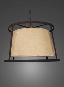 Lámpara Plena Luz | Araña Medieval - 3824 - Araña