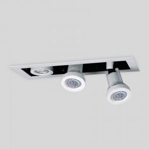 Lámpara Punto Iluminación | ATRIO BOX DICROLED X3 - EM ATBX H16 3 - Empotrable