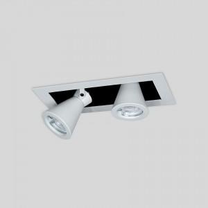 Lámpara Punto Iluminación | TESTA BOX CHICO X2 - EM TEBX H16 2 - Empotrable