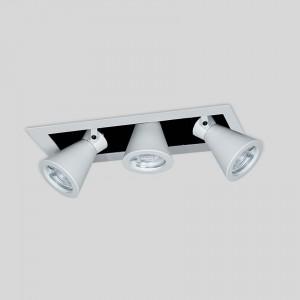 Lámpara Punto Iluminación | TESTA BOX CHICO X3 - EM TEBX H16 3 - Empotrable