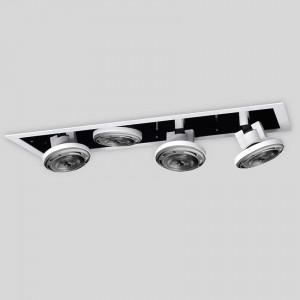 Lámpara Puro Iluminacion |  ATRIO BOX 111 LED X4 - EM ATBX 111G4 - Empotrable