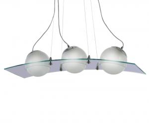 Lámpara Romaluz | Globos Cristales - 820-3 curvo