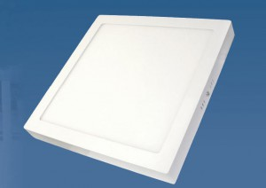 Lámpara Sica | Luminaria LED de montaje superficial - Cuadrada - Plafón