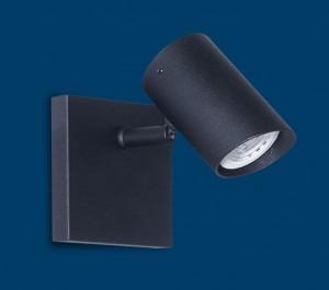 Vignolo IluminaciónRodry GU10 - RO-D1-NE - Aplique de pared