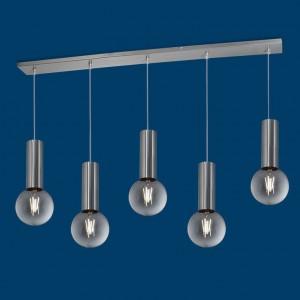 Lámpara Vignolo Iluminación | Tube E27 - TE-S515-PL - Colgante
