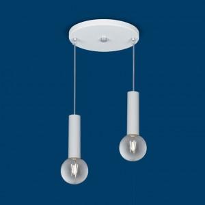 Lámpara Vignolo Iluminación | Tube E27 - TE-F120-BC - Colgante