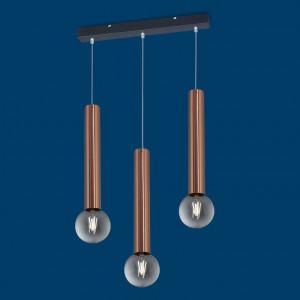 Vignolo IluminaciónTube E27 - TE-R340-CO - Colgante