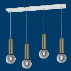 Lámpara Vignolo Iluminación | Tube E27 - TE-S420-DR - Colgante