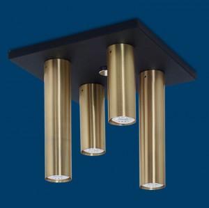 Vignolo IluminaciónTube GU10 - TP-L4-DR - TP-L4-CO - Plafón