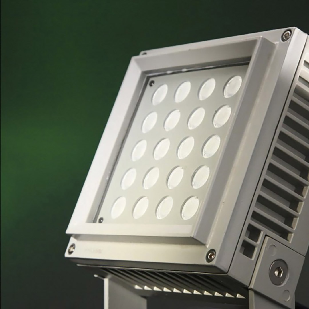 Dexel Lighting - Proyector Led de Uso Exterior 18W