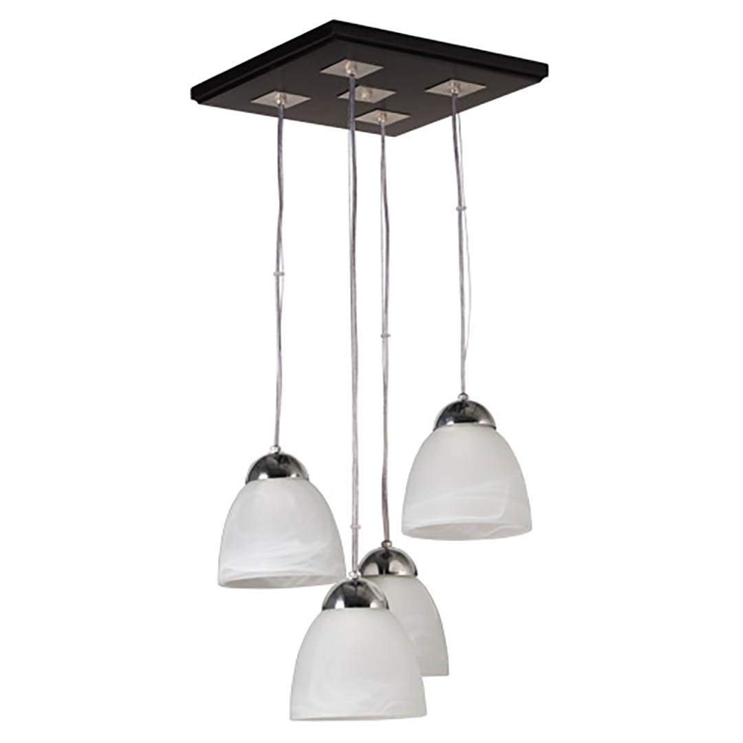 CG Luces - 2050-4L - Patri - Roble Oscura